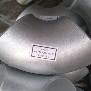 ГОСТ 22818-83 90-градусное горячеоцинкованное колено трубы, DN 150 мм, 7,11 мм