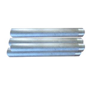 ANSI/ASME B36.10 Pipe Nipple, DN20, SCH 80, 200mm, TOE Ends