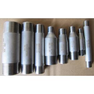 ASTM A182 F304 Pipe Nipple, ASME/ANSI B36.10, 1 X 100mm, SCH 80