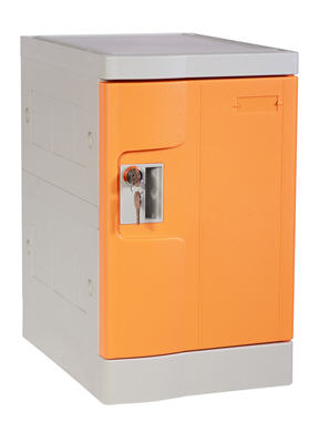 Nine Tier Plastic Locker for Office, Smart Designs in Interior
