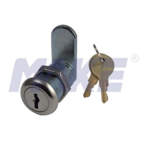 29.2mm Wafer Key Cam Lock, Zinc Alloy, Shiny Chrome, Nickel Plated