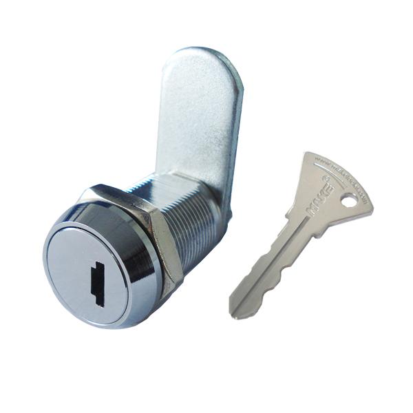 Zinc Alloy Patent Lock with Smart Disc & Tumbler, Bright Chrome