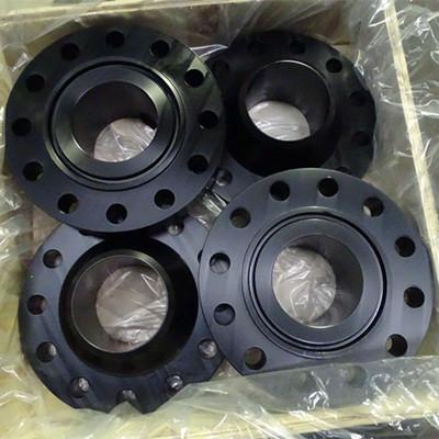 碳钢RTJ管法兰,ASTM A694 F60,DN150,900级,SCH 80