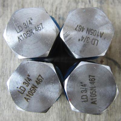 3/4 Inch Hexagon Plug, ASTM A105N, CL6000, NPT