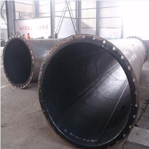 ASTM A106 Gr.B EMDM Lined Pipe, SCH STD, 24 Inch, 12M, Flanged End