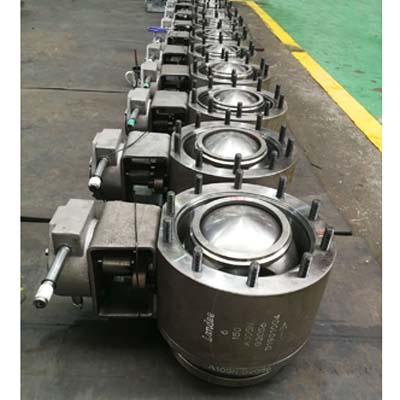 ASME B16.5球阀,ASTM A105N体,6英寸,150级LB,RF