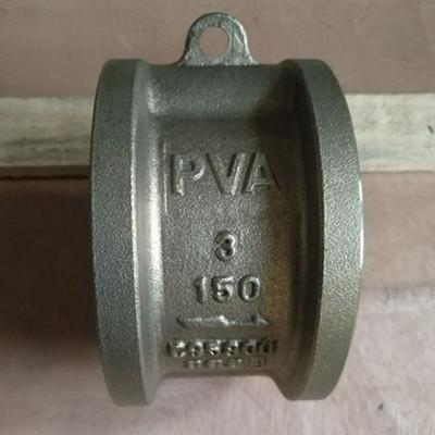 B148 C95800 Dual Plate Wafer Check Valve, 3 Inch, 150 LB, FF Flange