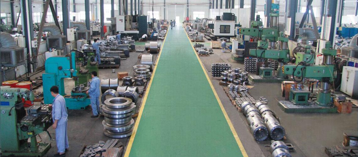 Valve machining center