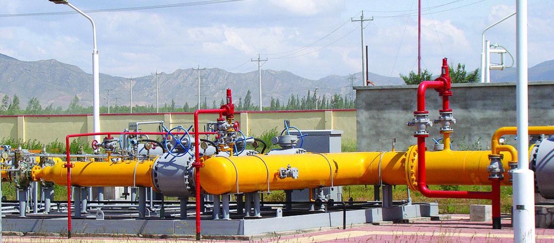 Bofa ball valves used to power plant